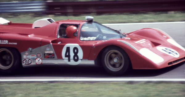 Mid Ohio 71 Can Am Ferrari 512