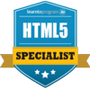 html Certification
