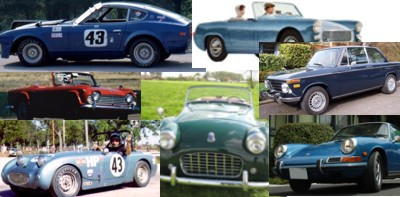 Sports Cars I have owned